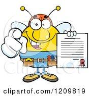 Bee Mascots 3