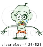 Halloween Zombie Emoticons