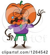 Halloween Scarecrow Emoticons