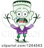 Halloween Frankenstein Emoticons