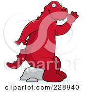 Red Dinosaurs