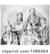5 Ute Women Free Historical Stock Photography