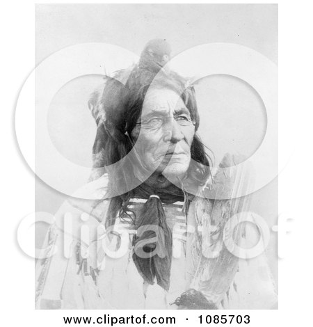 6 Pool Long Otter, Crow Indian Man - Free Historical Stock Photography by JVPD