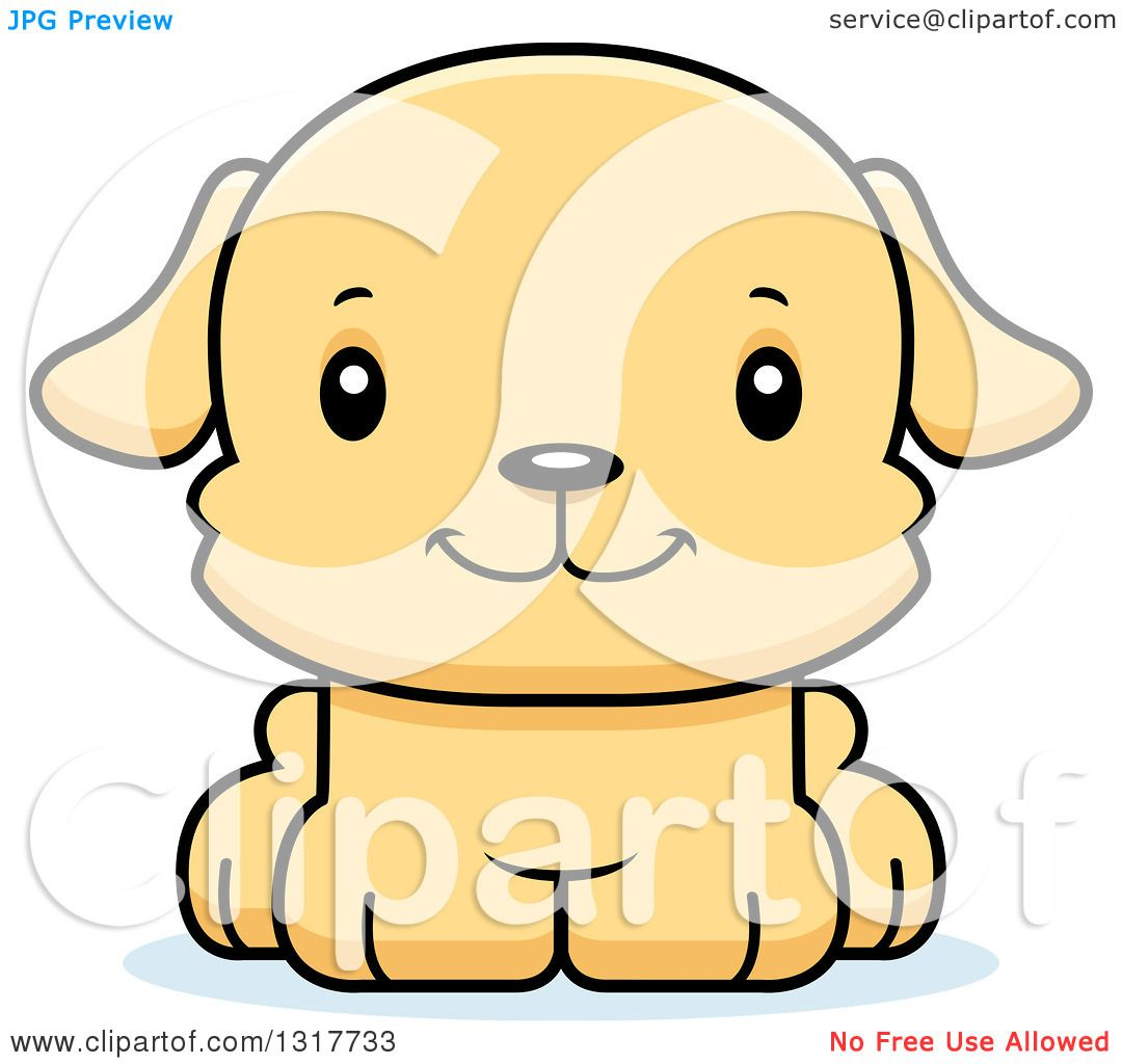 Cartoon Illustration Of Happy Puppy Dog Comic Animal Character Royalty Free  Cliparts, Vectors, And Stock Illustration. Image 140397022.