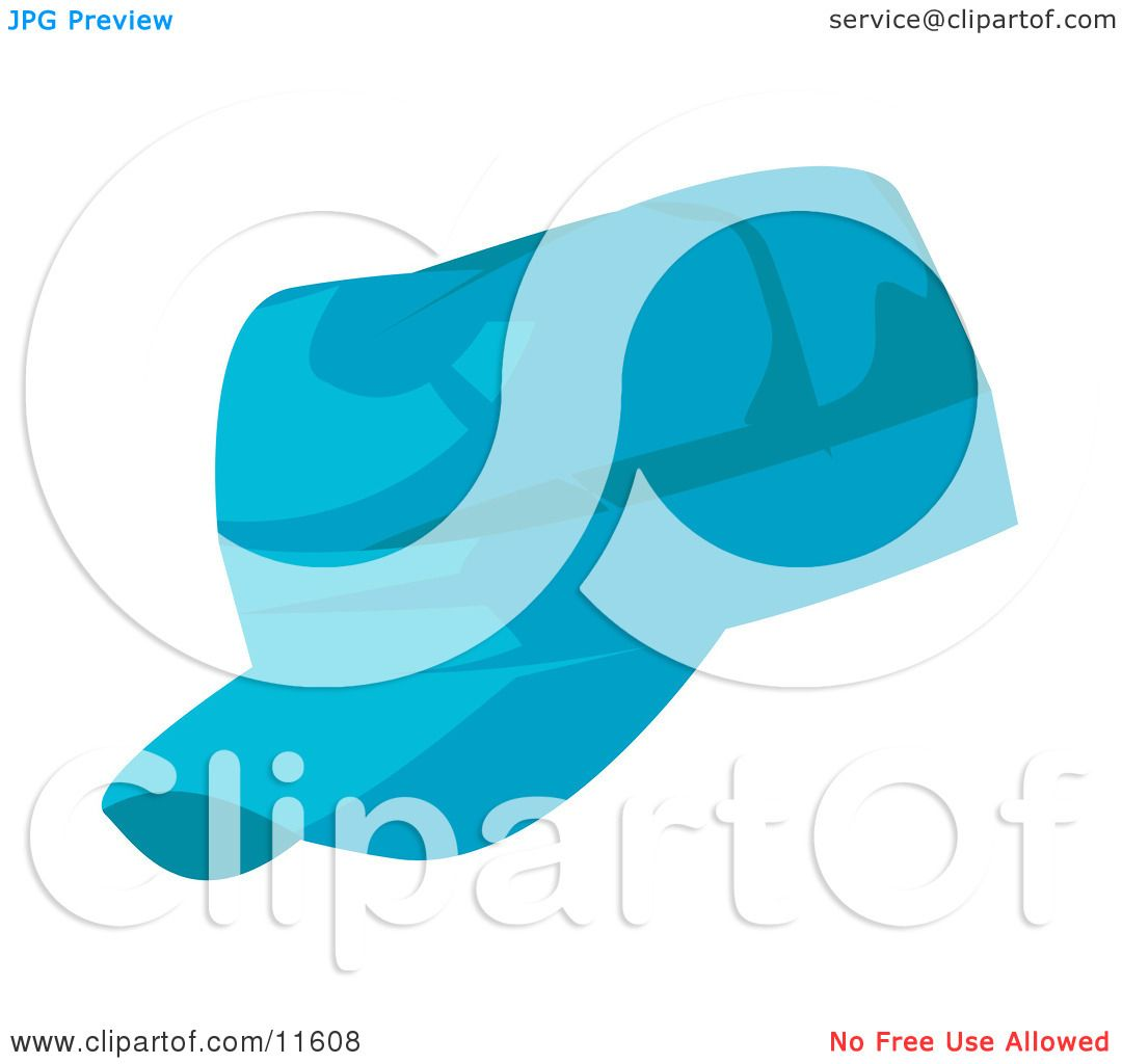 Clip Art Baseball Hat Blue baseball hat clipart