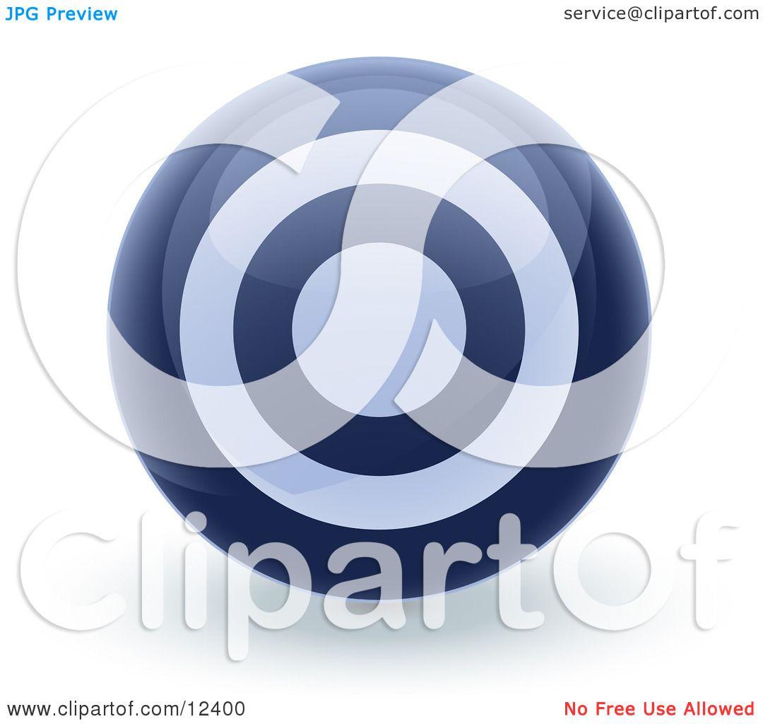 Blue bullseye target circle icon internet button clipart blue bullseye target circle icon internet button clipart illustration by leo blanchette biocorpaavc