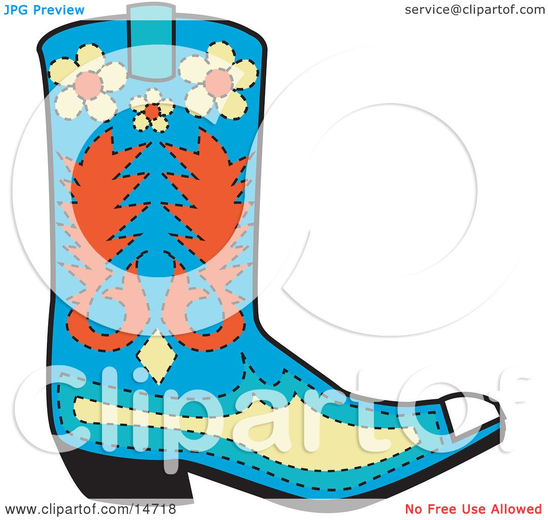 Blue Children's Rubber Boots On Thick Corrugated Soles, Isolated.. Royalty  Free Cliparts, Vectors, And Stock Illustration. Image 94780689.