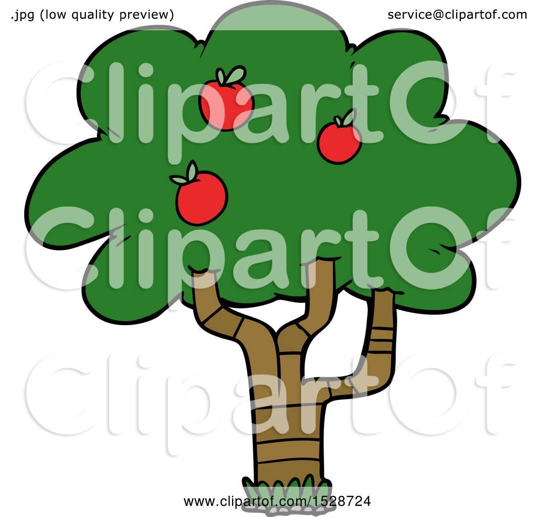 Cartoon Apple Tree by lineartestpilot #1528724