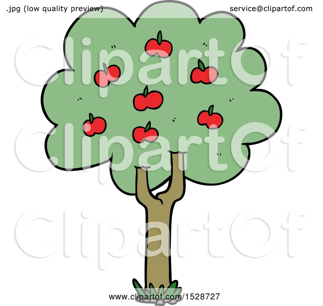 Cartoon Apple Tree by lineartestpilot #1528727