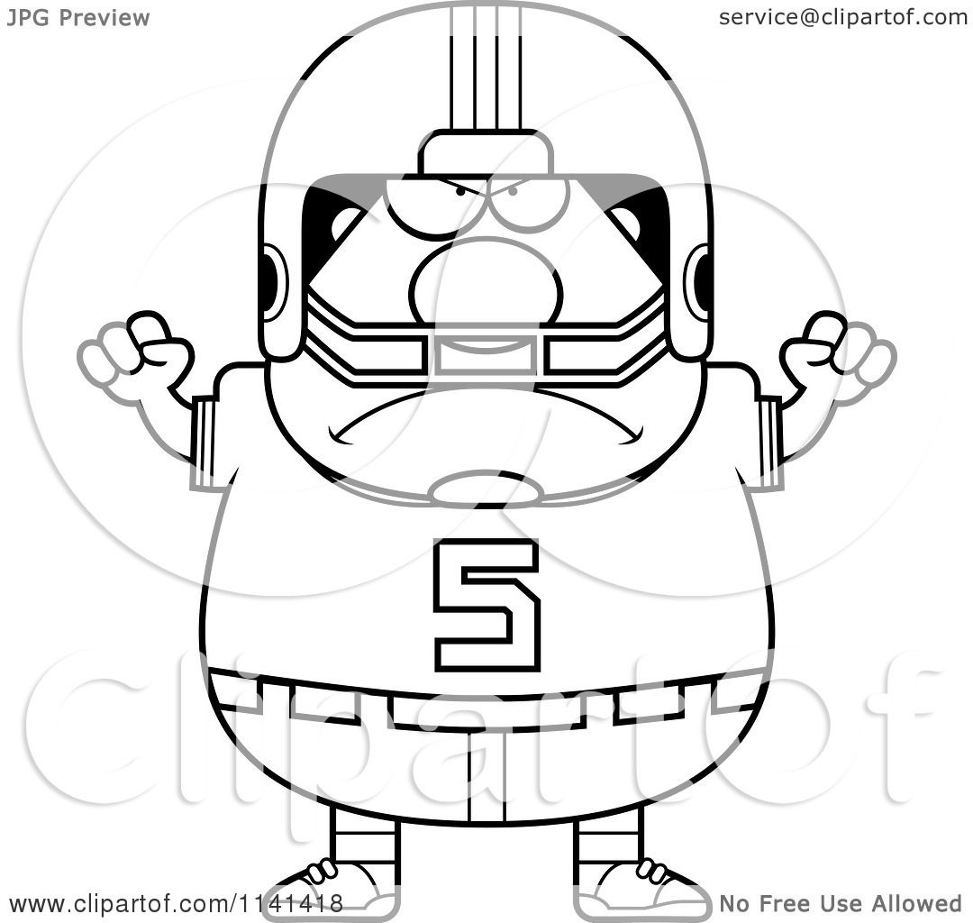 Cartoon Clipart Of A Black And White Angry Chubby Football Player Vector Outlined Coloring Page 10241141418 moreover football helmet coloring page 1 on football helmet coloring page also football helmet coloring page 2 on football helmet coloring page likewise football helmet coloring page 3 on football helmet coloring page likewise football helmet coloring page 4 on football helmet coloring page