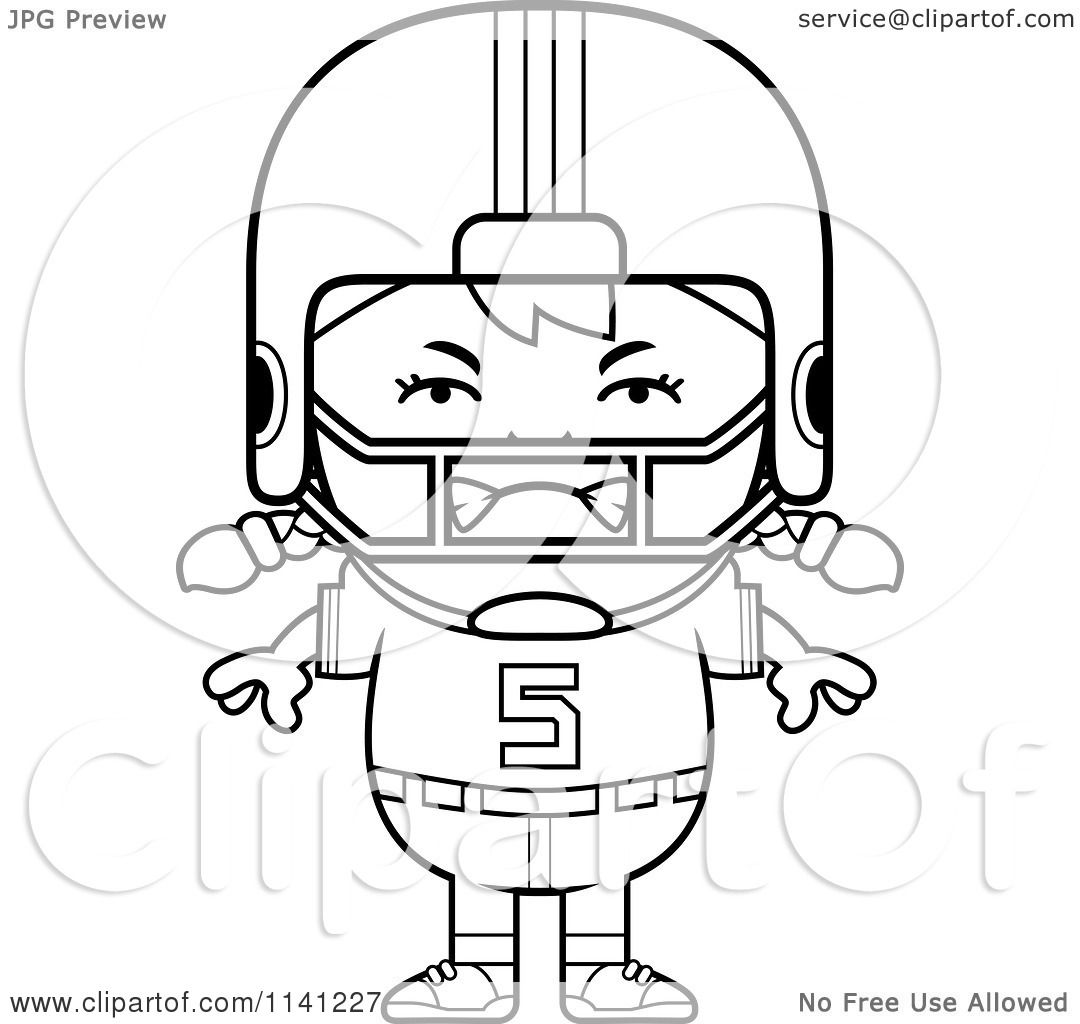 Coloring Pages Football Players Football Player Coloring Pages