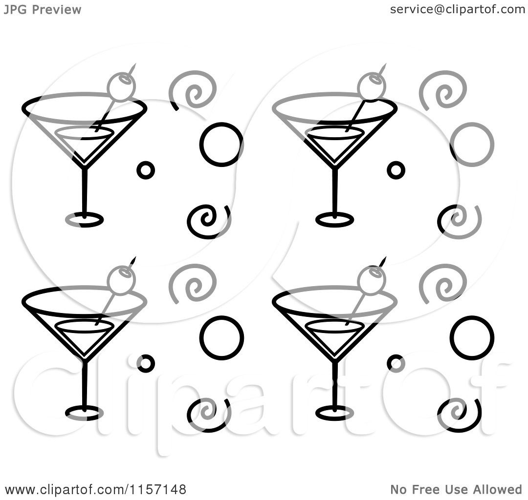 Margarita Glass Coloring Pages