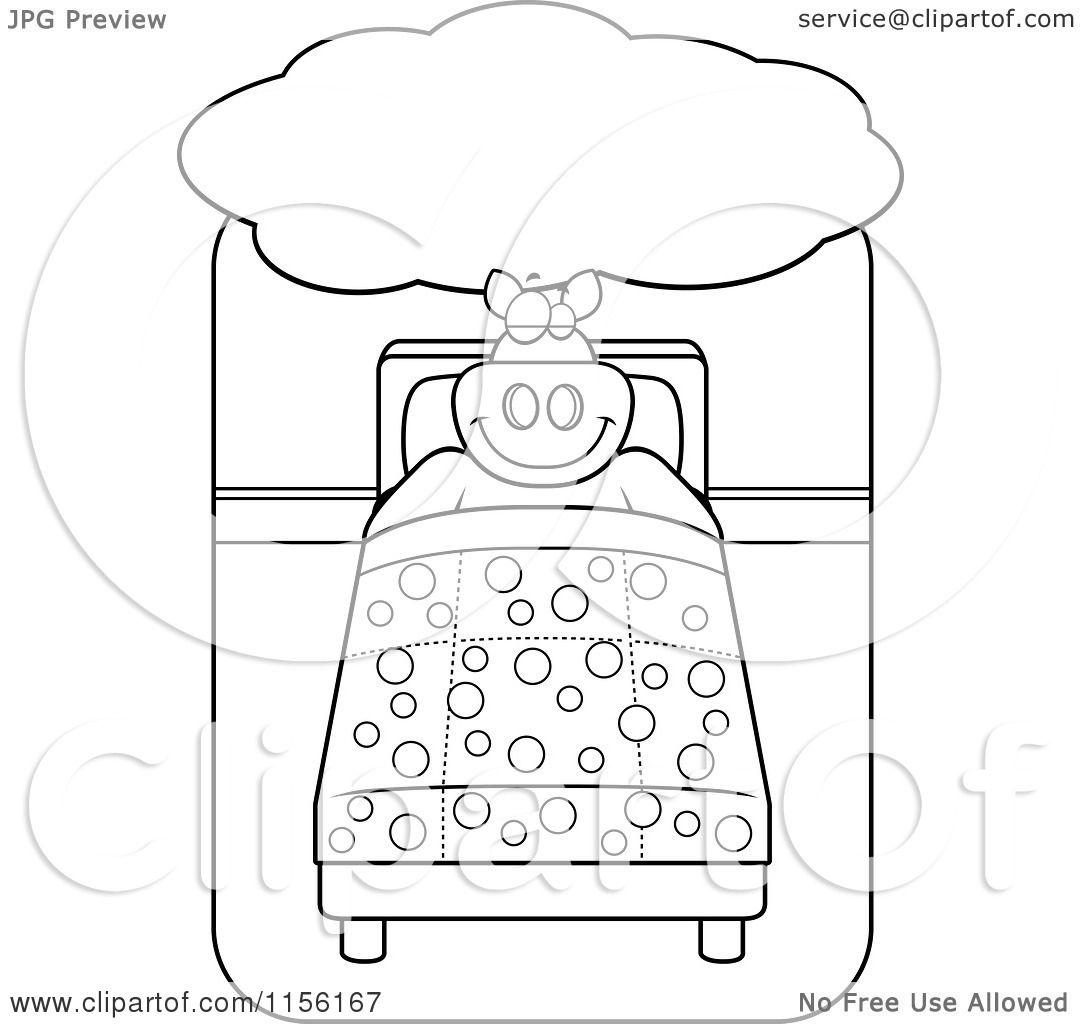 big bed pics coloring pages - photo#25