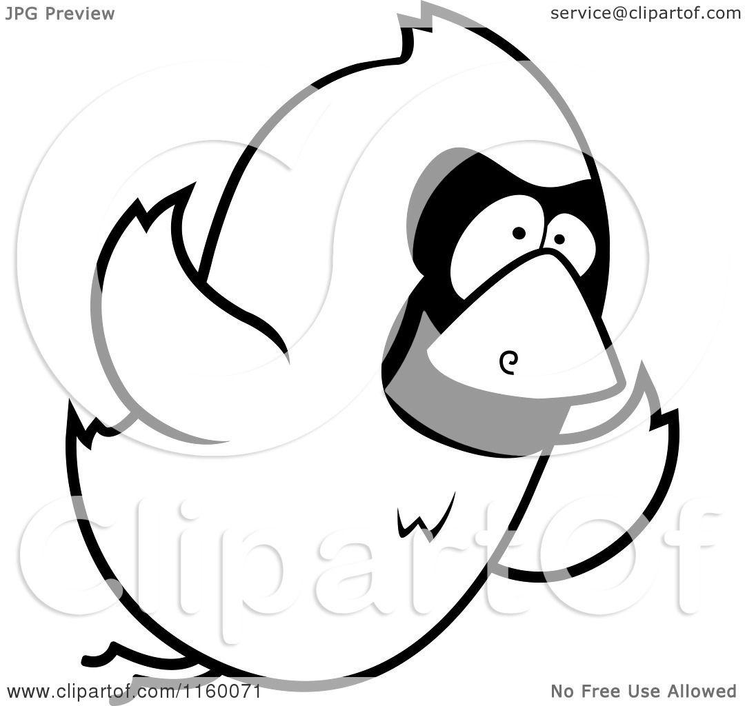 Flying bird cartoon black and white - photo#11