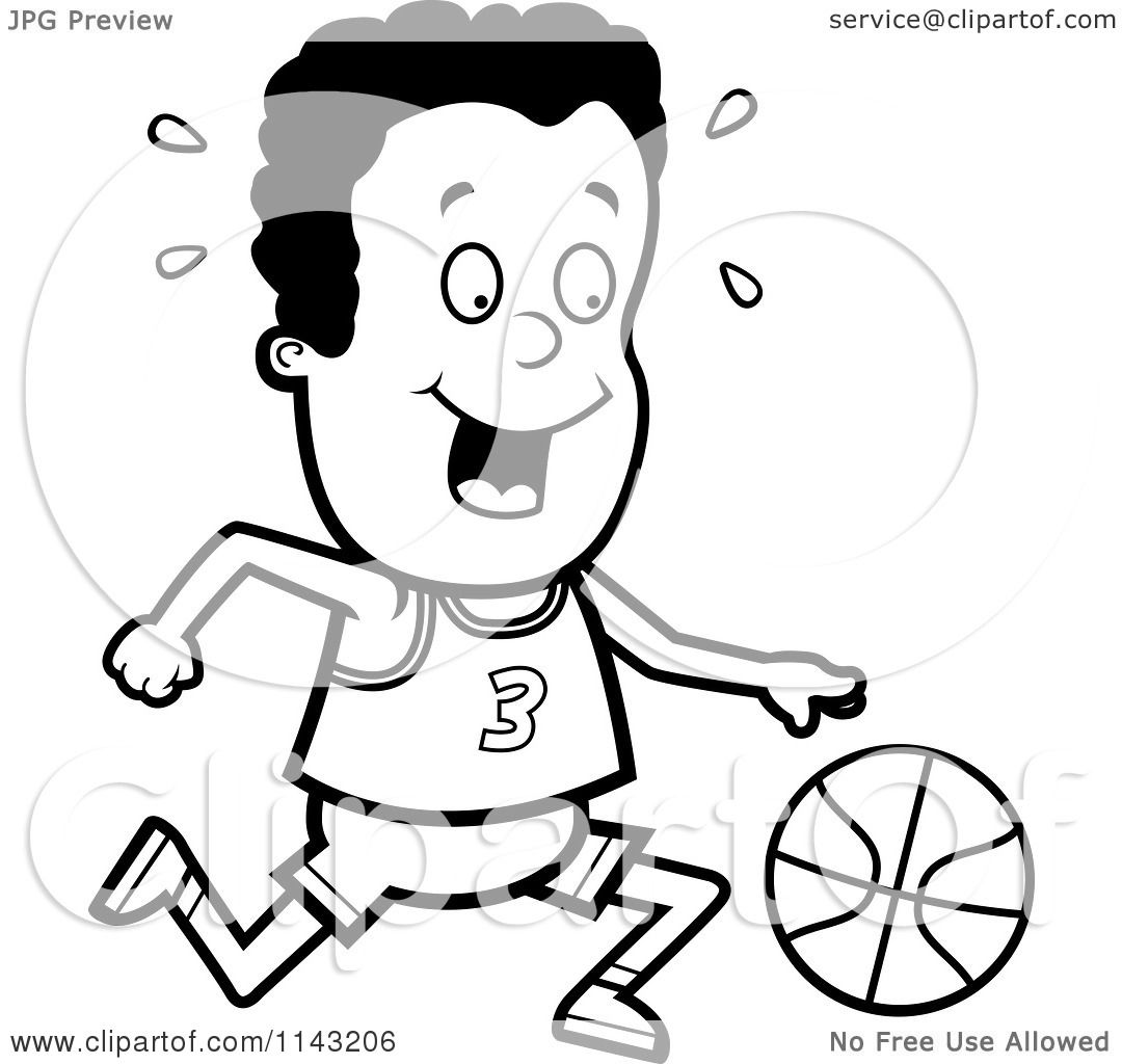 Flaming Basketball Coloring Pages
