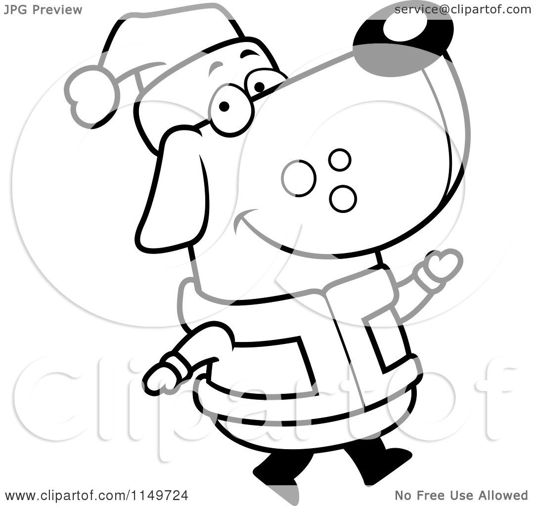black and white santa suit pictures to pin on pinterest