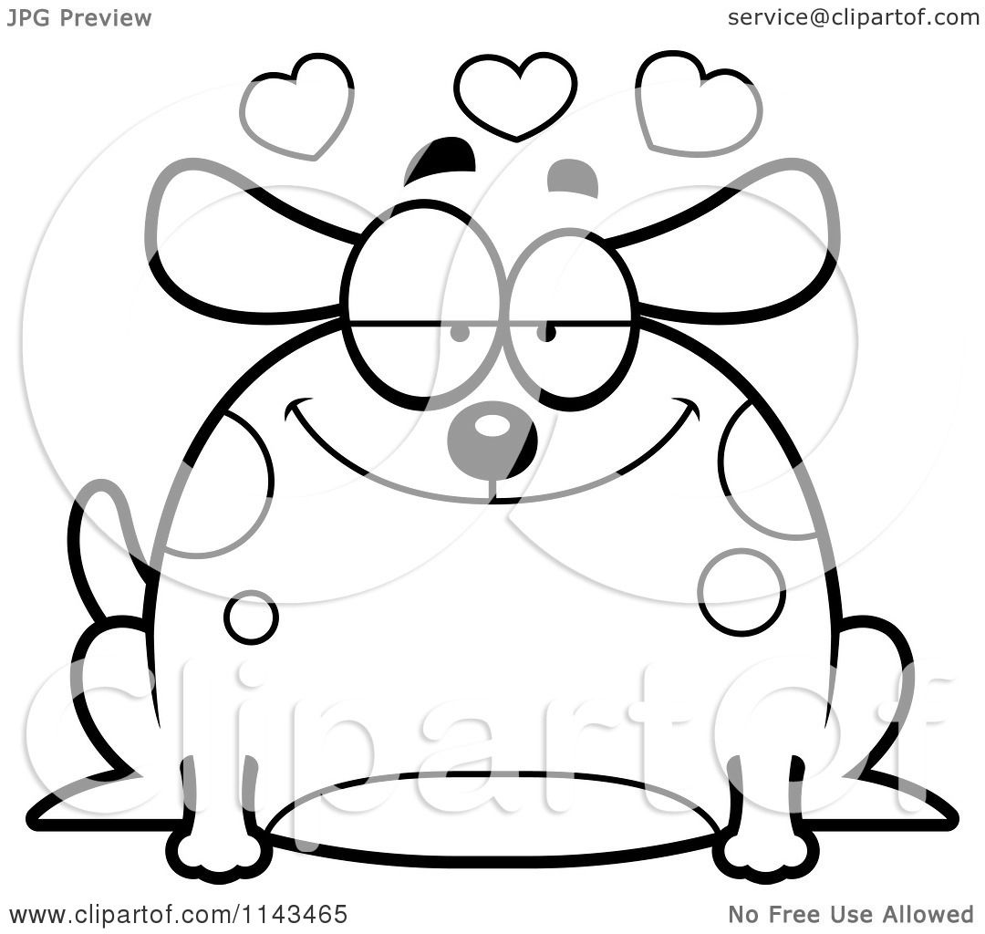 royalty free rf dog valentine clipart illustrations vector