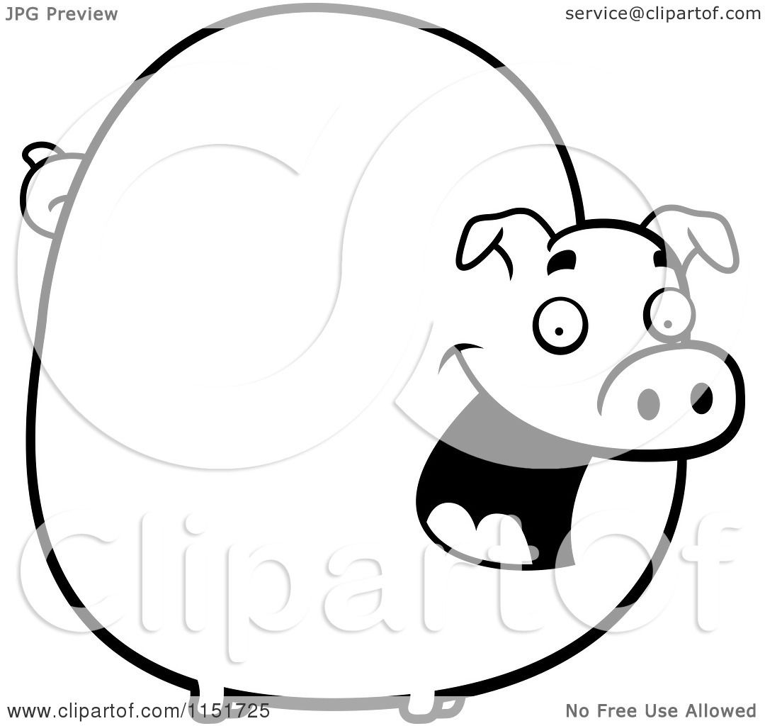 Cartoon Clipart Of A B...