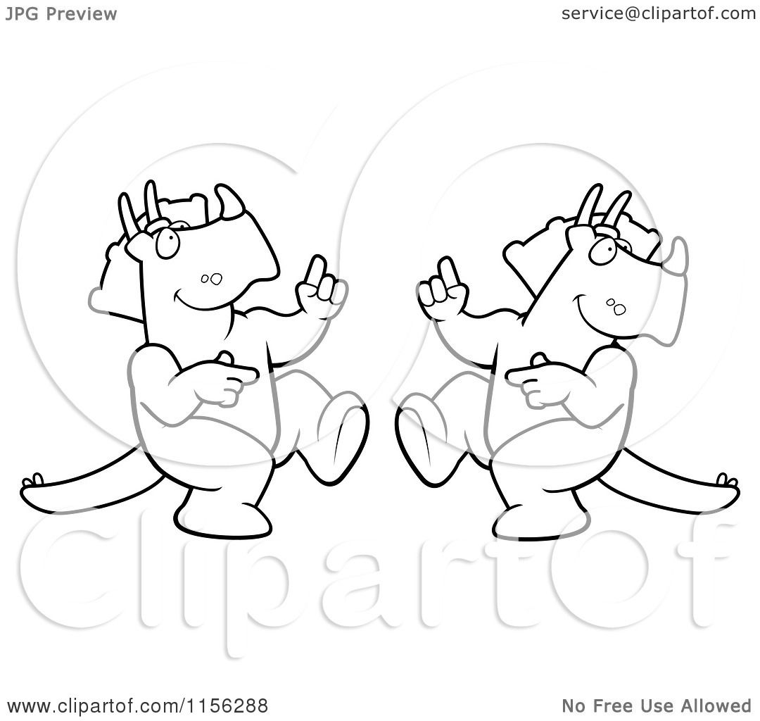Coloring Pages Of Dancing Hippos Viewing Gallery
