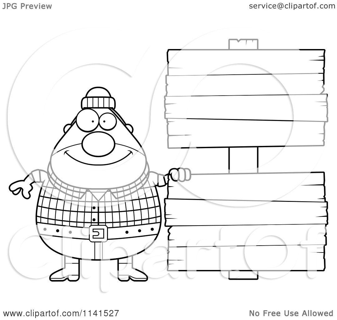 printable lumberjack coloring pages - photo#25