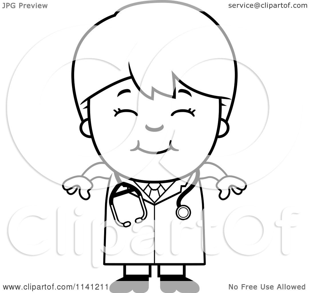 Free coloring pages veterinarian