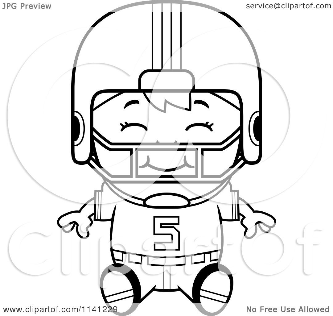 Coloring Pages Football Player Free Printable Coloring Pages Of
