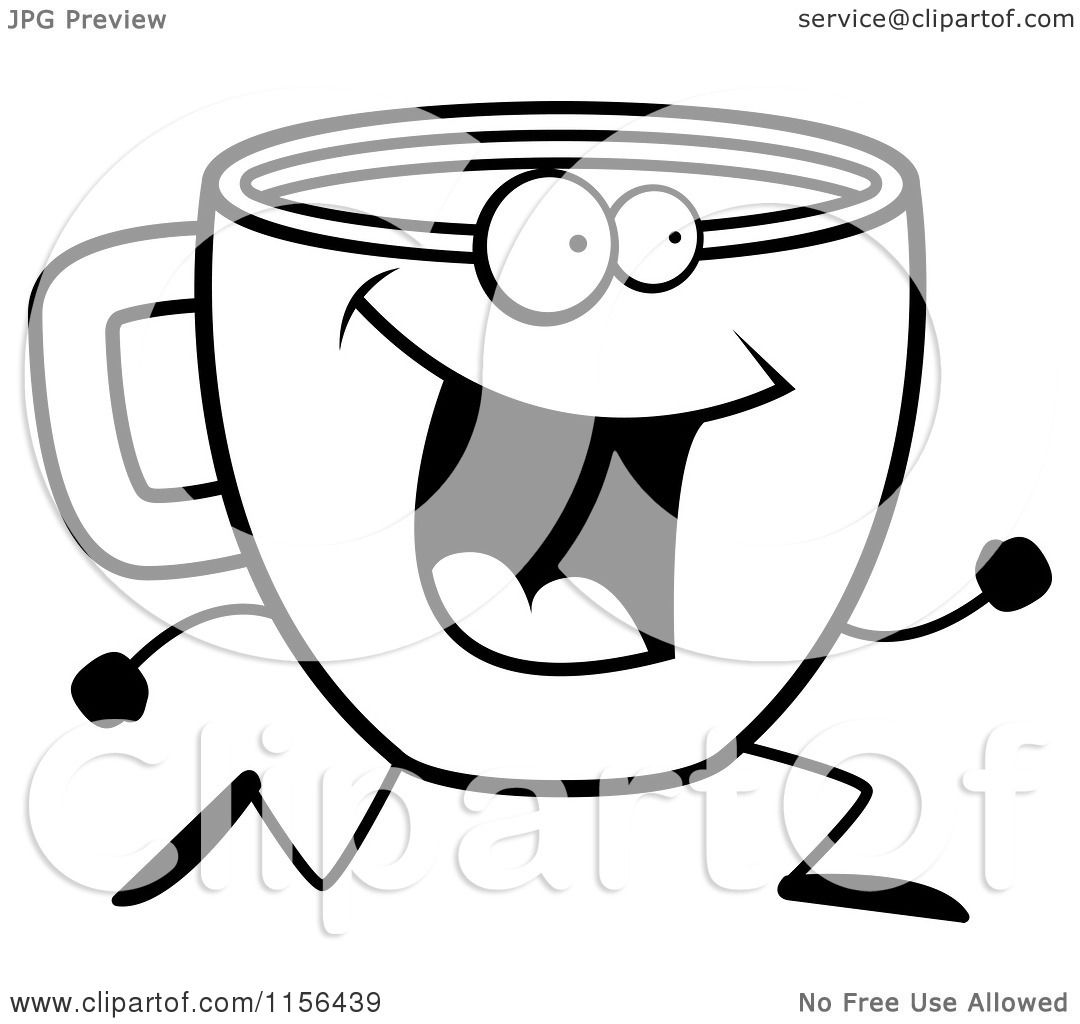 Labels Coffee Cup Coloring Page Drawing Wallpaper: Coffee Cup ...