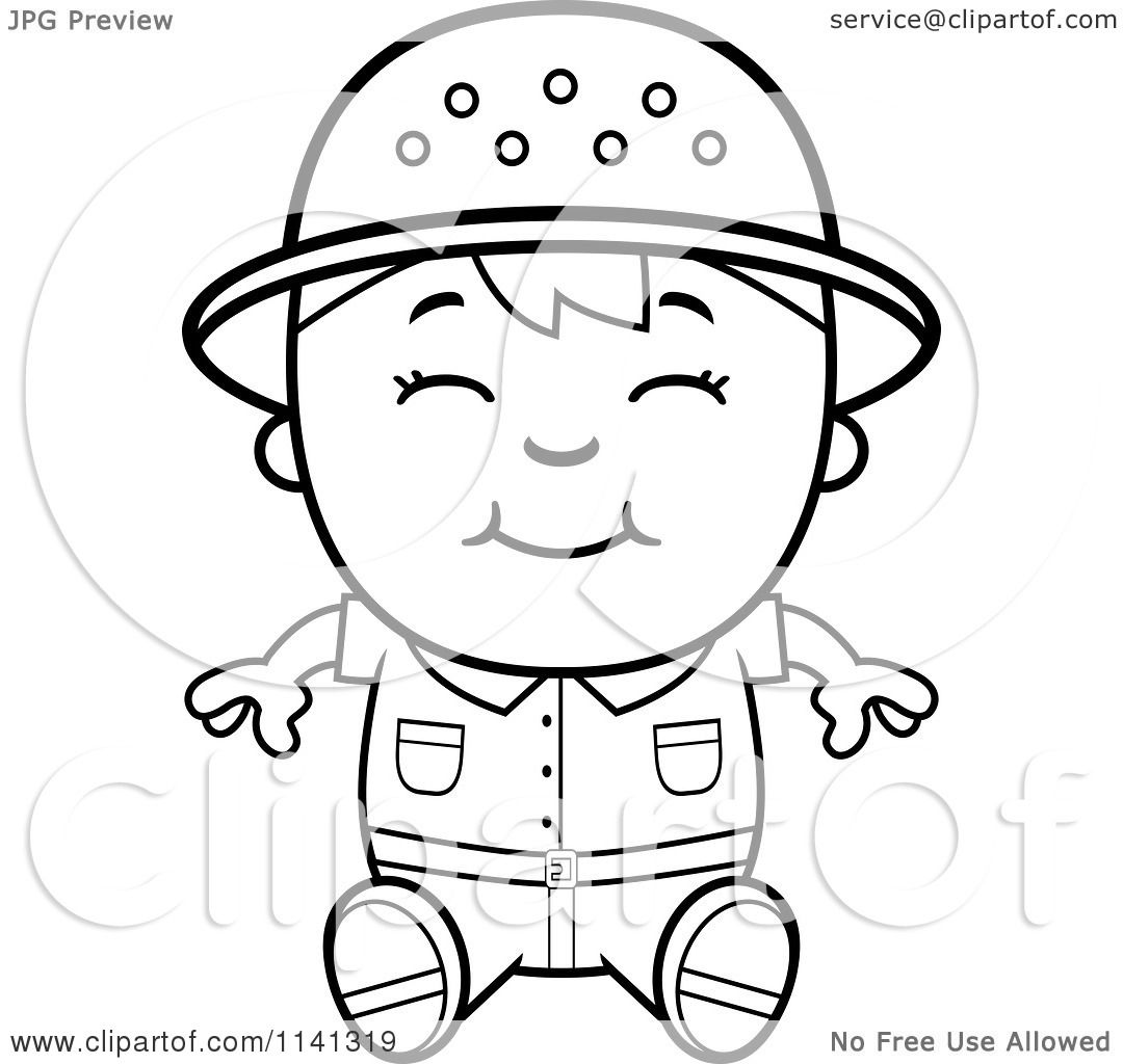 safari people coloring pages - photo#20