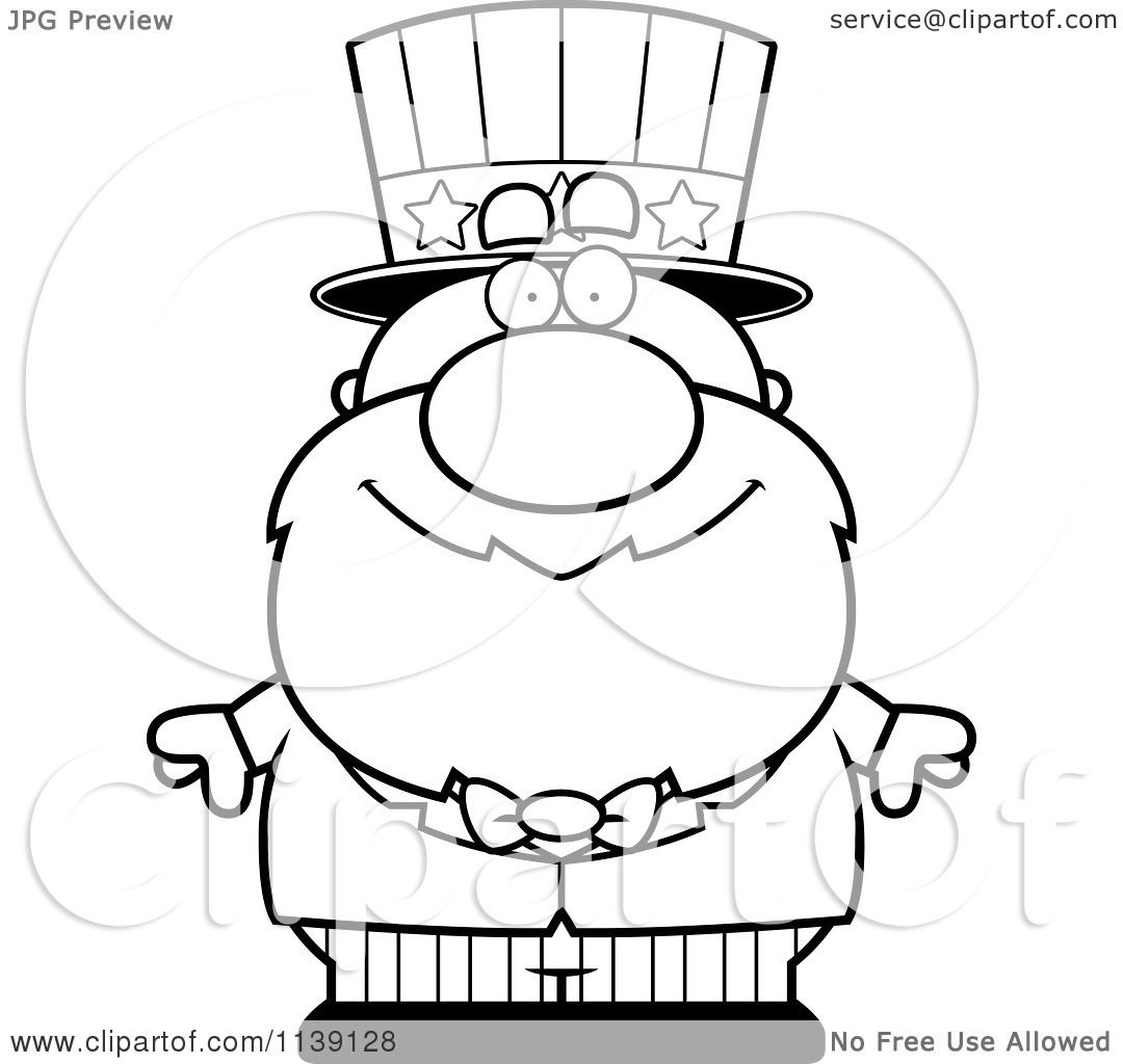 uncle sam coloring page uncle sam cartoon coloring page uncle