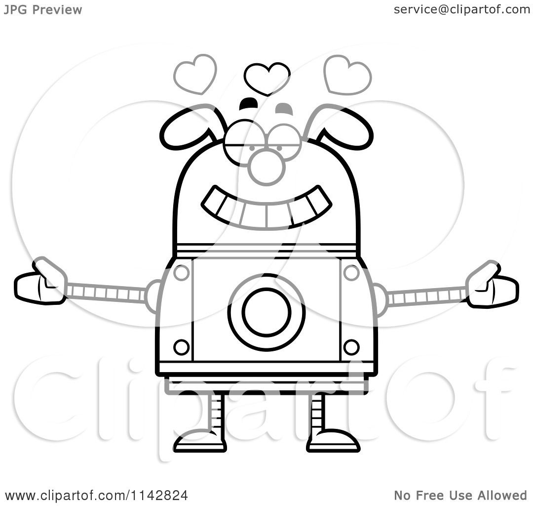 robot dog coloring pages robot coloring pages rico the robot