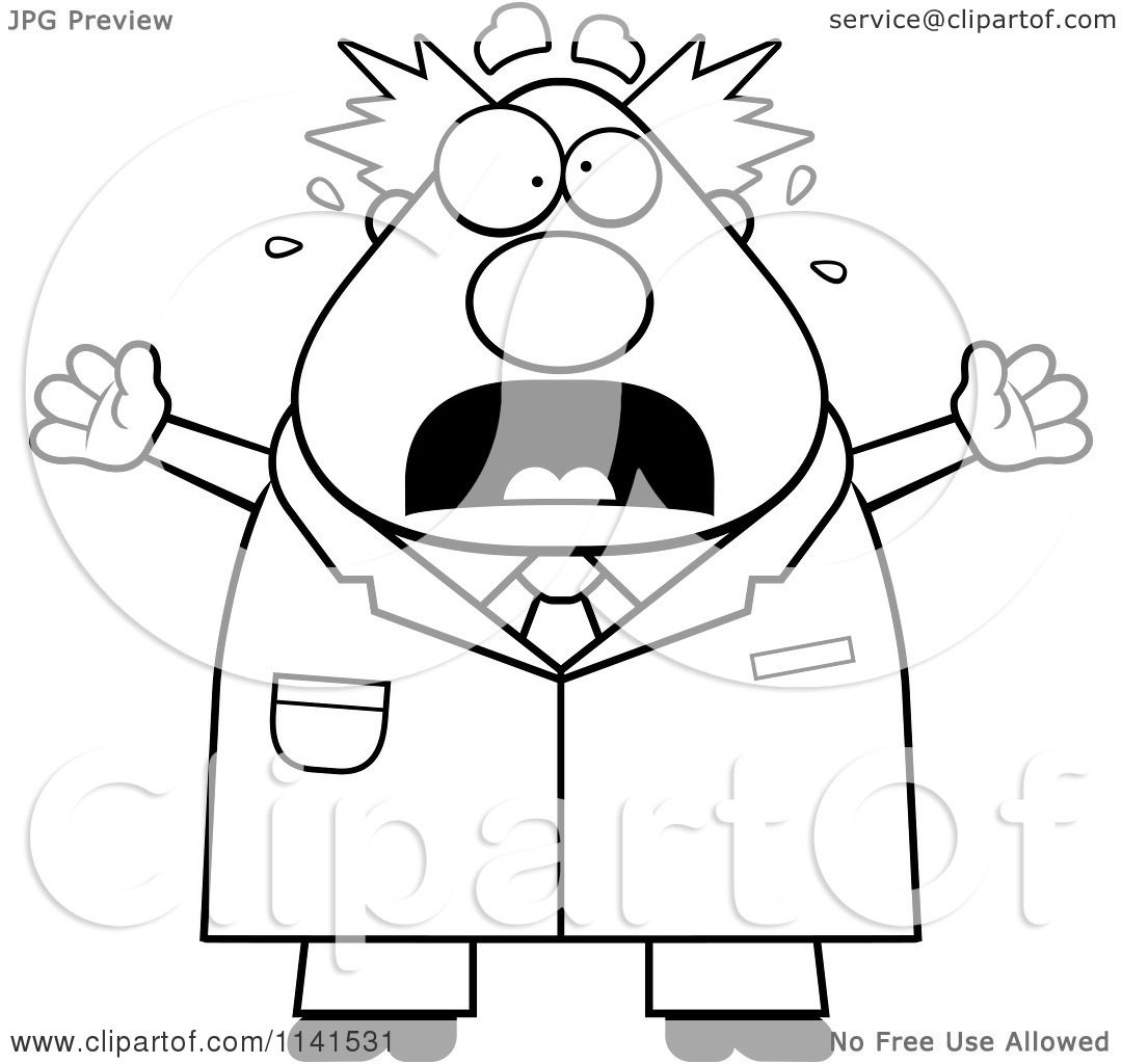 royalty free rf mad scientist clipart illustrations vector