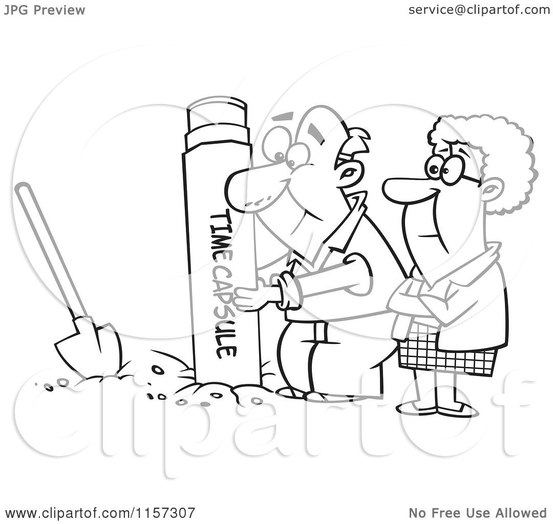 Free coloring pages for the elderly - Cartoon Clipart Of A Black And White Senior Couple Pulling Out Or Coloring Pages Printable