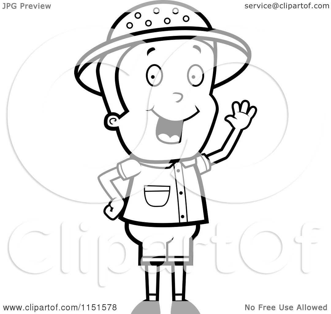 safari people coloring pages - photo#6