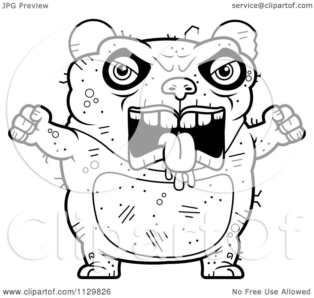 Angry Panda Head Mascot Stock Illustrations  89 Angry
