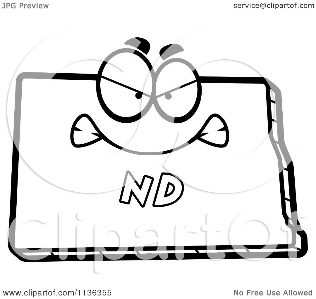 north dakota coloring pages