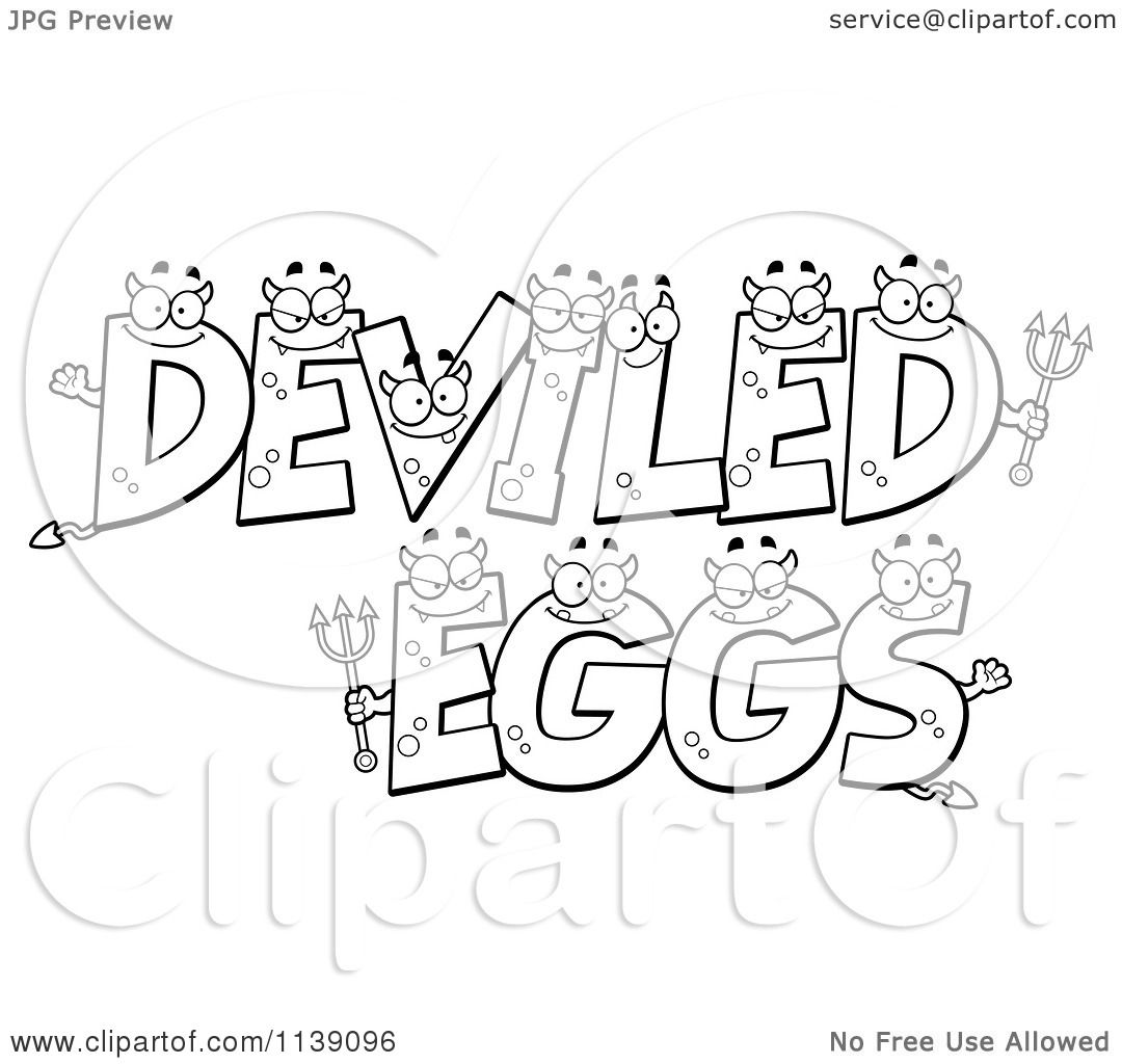 Cartoon Clipart Of Black And White