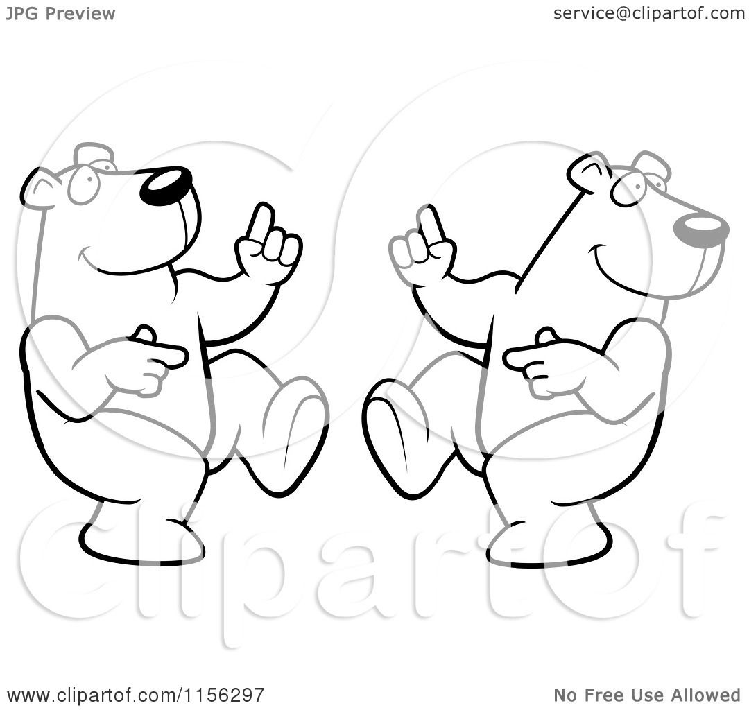 Polar Bear Colouring | New Calendar Template Site