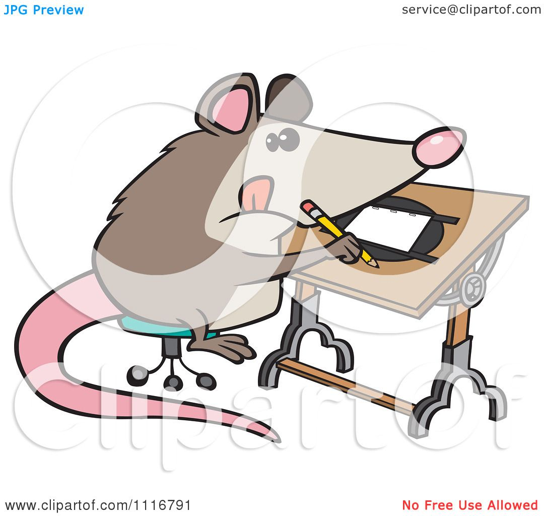 cartoon of a artist possum drawing royalty free vector clipart by rh clipartof com possum clipart black and white possum clipart images