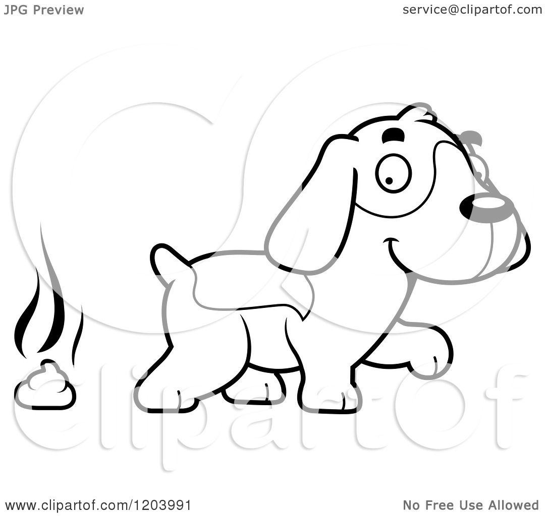 cute beagle dog coloring pages - photo#23