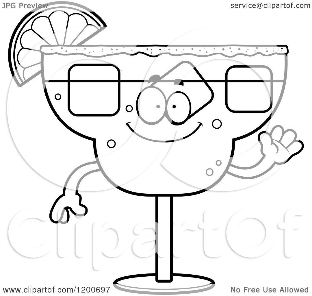 free margarita coloring pages - photo#8