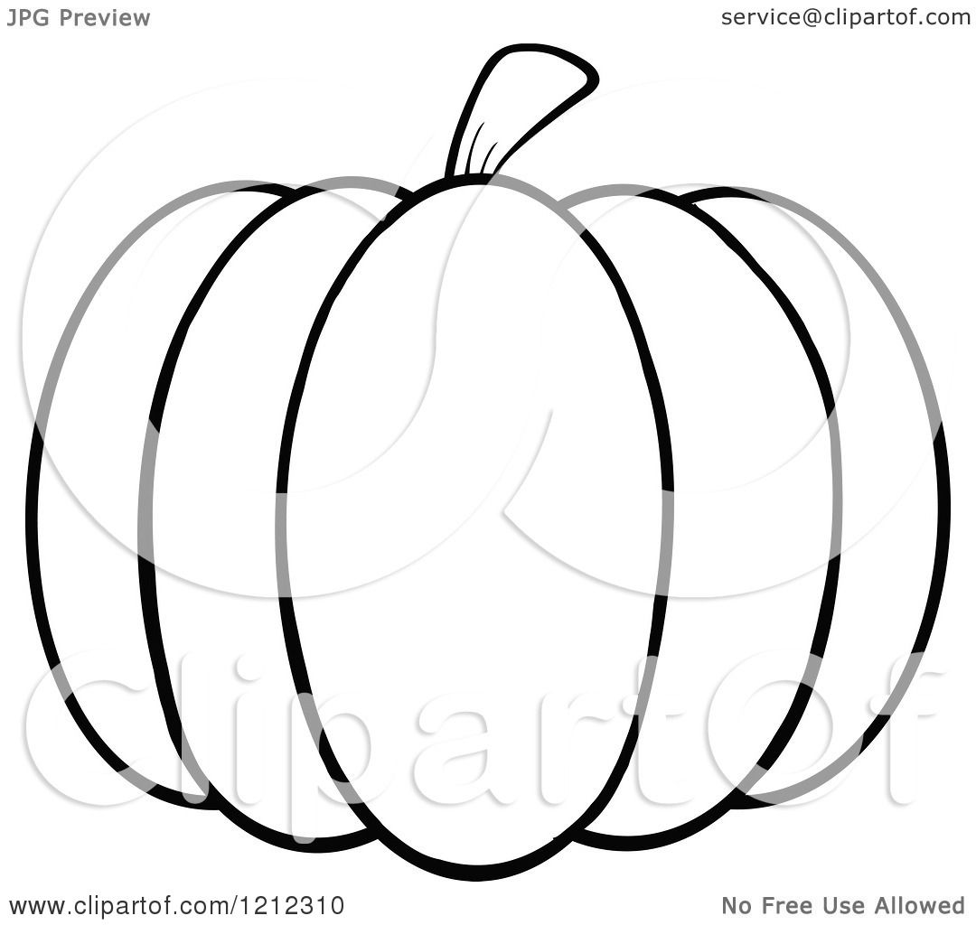 Black And White Pumpkin Clipart – 101 Clip Art |Cartoon Black And White Pumkin
