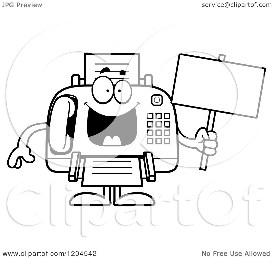 Displaying 20> Images For - Fax Machine Clipart Free...