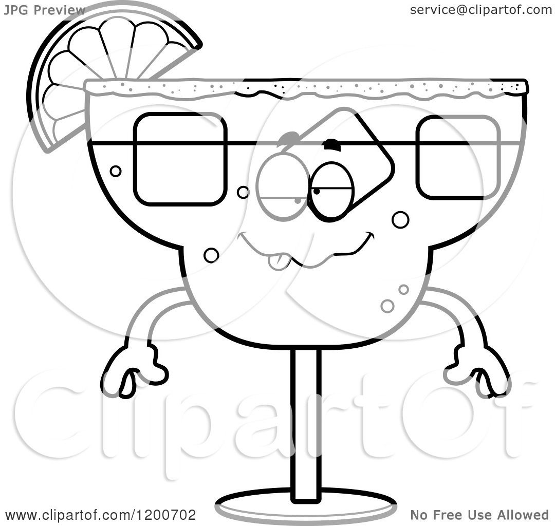 free margarita coloring pages - photo#15