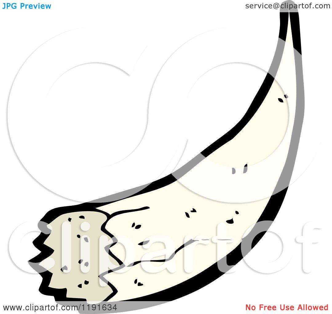 Cartoon Of A Bulls Horn Royalty Free Vector Illustration By Lineartestpilot 1191634