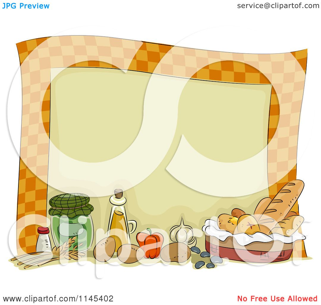 Displaying 14> Images For - Food Border Clip Art...