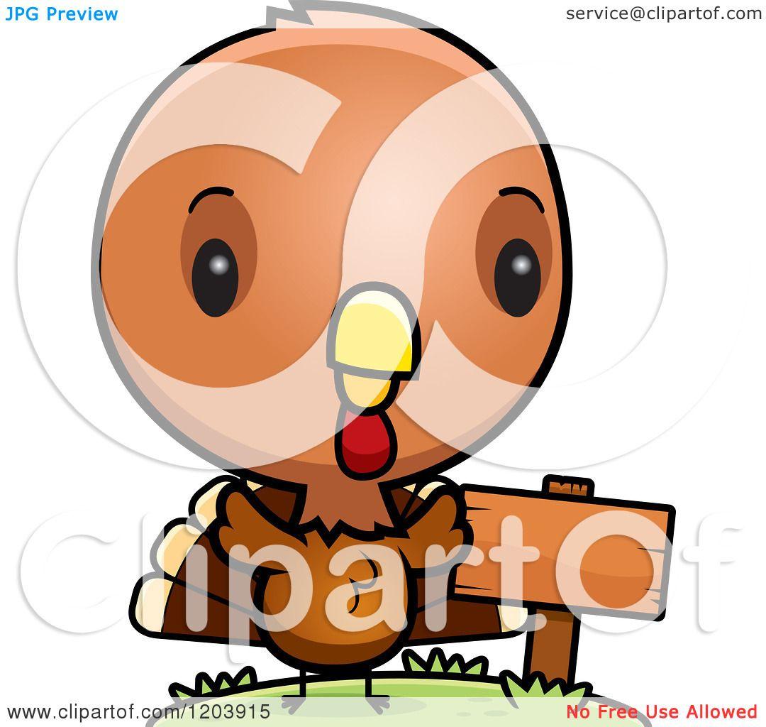 baby turkey cartoon