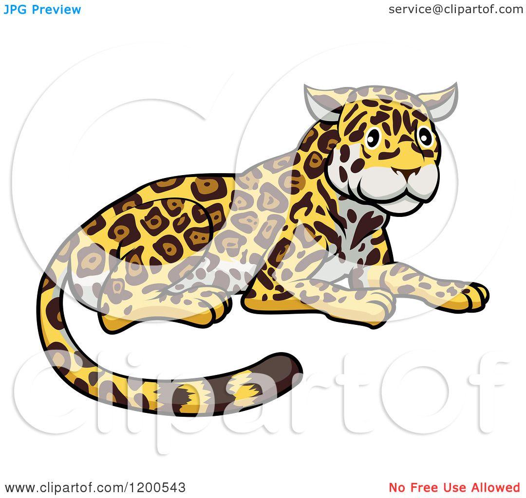 cute jaguar clipart - photo #50