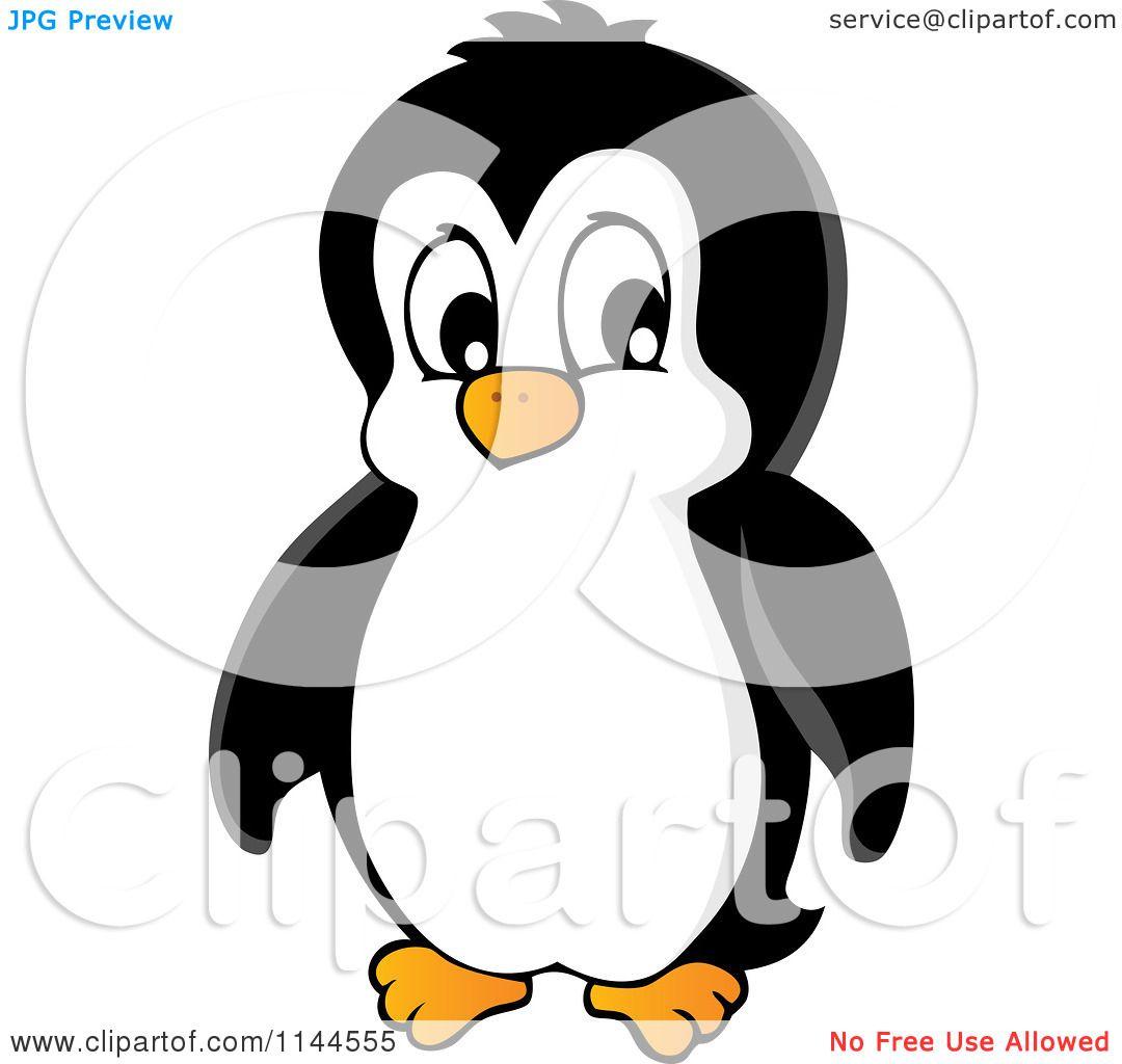 Cartoon of a Cute Little Penguin 2 - Royalty Free Vector ...