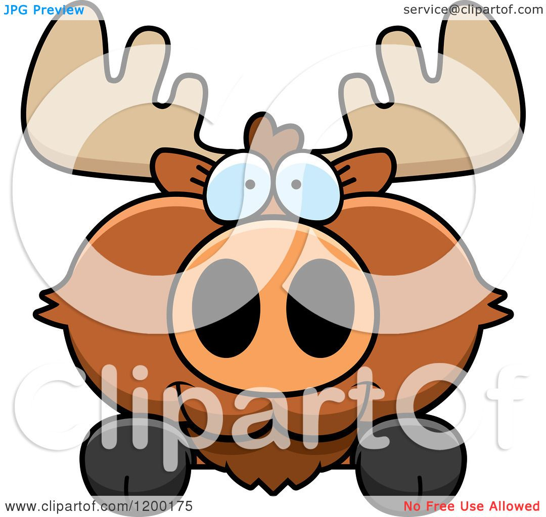 Free Cute Moose Cliparts, Download Free Clip Art, Free Clip Art on Clipart  Library