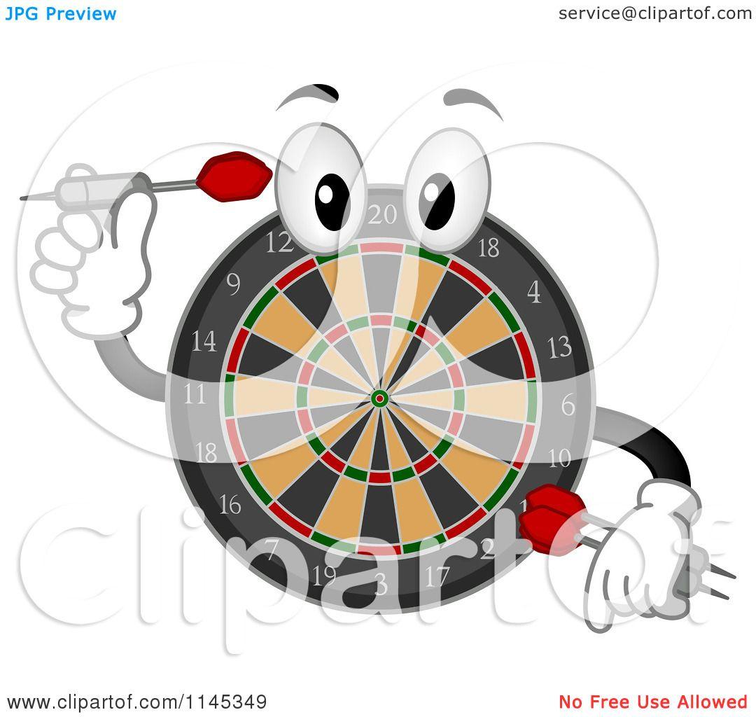 Darts clipart